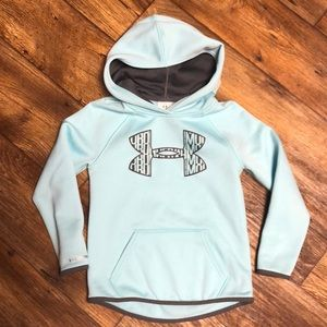 Girls youth XS Under Armour hoodie
